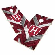 Harvard Crimson Herringbone Cornhole Game Set