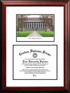 Harvard Crimson Scholar Diploma Frame