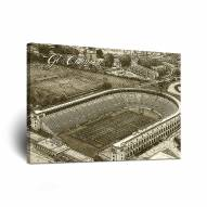Harvard Crimson Sketch Canvas Wall Art