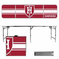 Harvard Crimson Victory Folding Tailgate Table