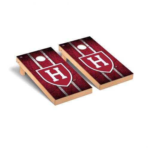 Harvard Crimson Vintage Cornhole Game Set