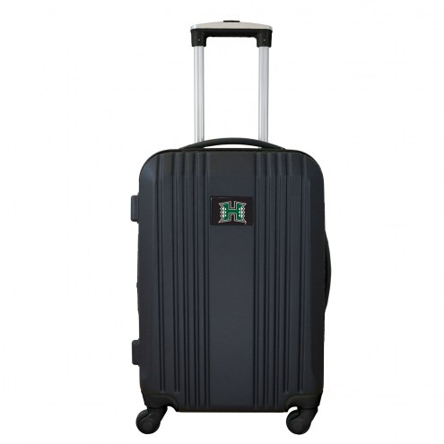 """Hawaii Warriors 21"""" Hardcase Luggage Carry-on Spinner"""