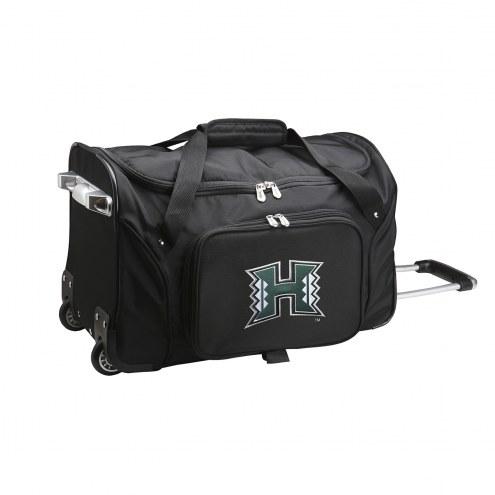 "Hawaii Warriors 22"" Rolling Duffle Bag"