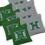 Hawaii Warriors Cornhole Bags