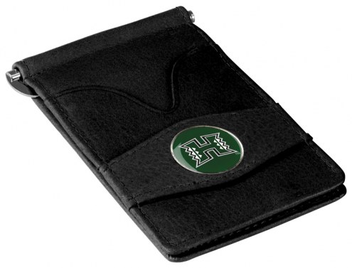 Hawaii Warriors Black Player's Wallet