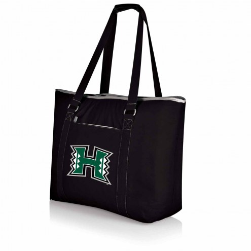 Hawaii Warriors Black Tahoe Beach Bag