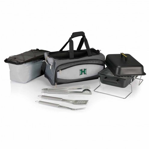 Hawaii Warriors Buccaneer Grill, Cooler and BBQ Set