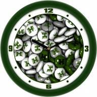 Hawaii Warriors Candy Wall Clock