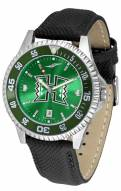 Hawaii Warriors Competitor AnoChrome Men's Watch - Color Bezel