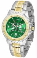 Hawaii Warriors Competitor Two-Tone AnoChrome Men's Watch