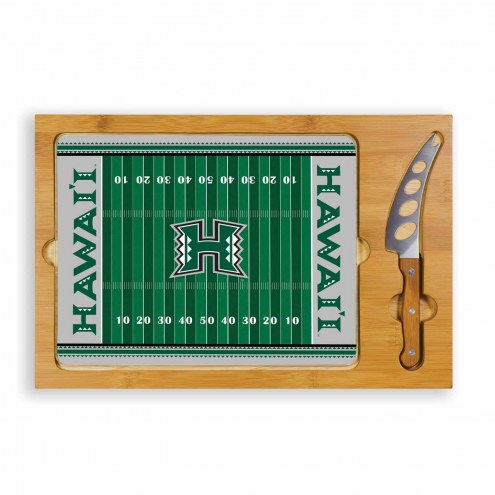 Hawaii Warriors Icon Cutting Board