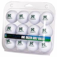 Hawaii Warriors Dozen Golf Balls