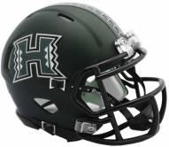 Hawaii Warriors Riddell Speed Mini Collectible Football Helmet