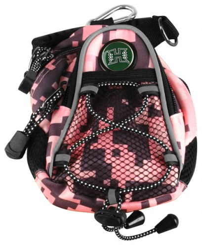 Hawaii Warriors Pink Digi Camo Mini Day Pack