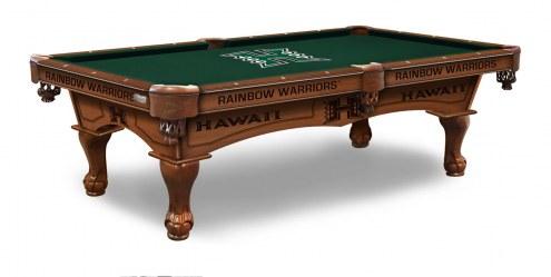 Hawaii Warriors Pool Table