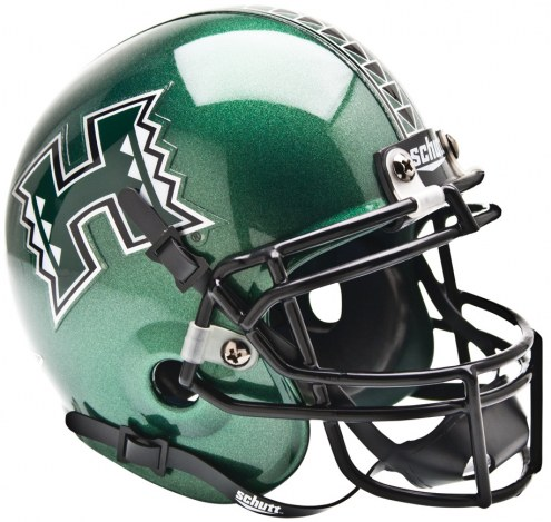 Hawaii Warriors Schutt Mini Football Helmet