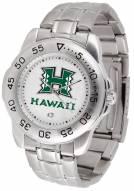 Hawaii Warriors Sport Steel Men's Watch