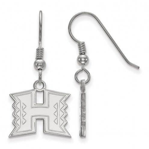 Hawaii Warriors Sterling Silver Small Dangle Earrings