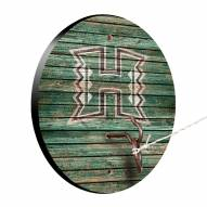 Hawaii Warriors Weathered Design Hook & Ring Game