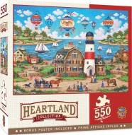 Heartland Collection Balloons Over the Bay 550 Piece Puzzle