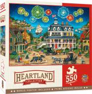 Heartland Collection Fireworks Finale 550 Piece Puzzle