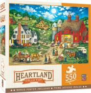 Heartland Collection Friday Night Hoe Down 550 Piece Puzzle