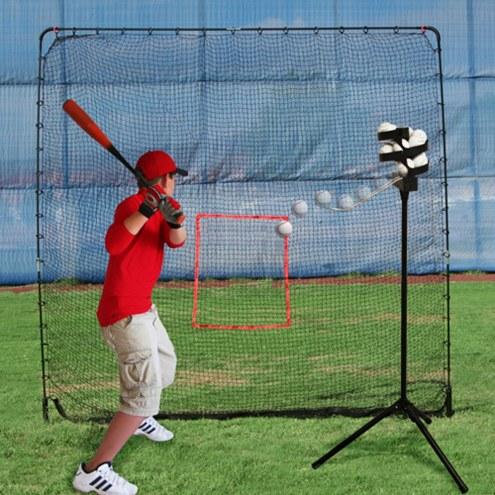 Heater King Kong Baseball Net and Scorpion Soft Toss Pitching Machine