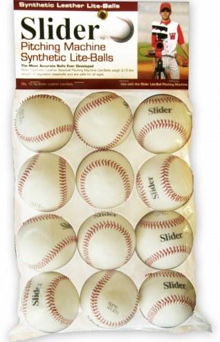 Heater Synthetic Leather Lite Baseballs - Dozen