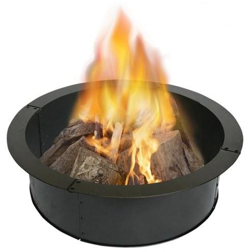 "Heavy Gauge 36"" Round Steel Fire Ring"