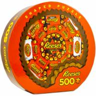 Hershey Shaped Reeses 500 Piece Shaped Puzzle