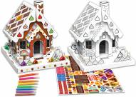 Hersheys Gingerbread House Buildable Cardboard Creations Play Set