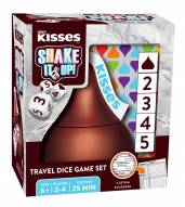 Hershey's Kisses Shake It Up Travel Dice Game