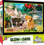 Hidden Images Glow In The Dark Afternoon at the Park 500 Piece Puzzle