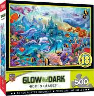 Hidden Images Glow In The Dark Sea Castle Delight 500 Piece Puzzle