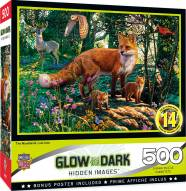 Hidden Images Glow In The Dark The Woodlands 500 Piece Puzzle