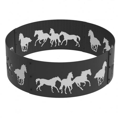 """High Horse 36"""" Round Steel Fire Ring"""