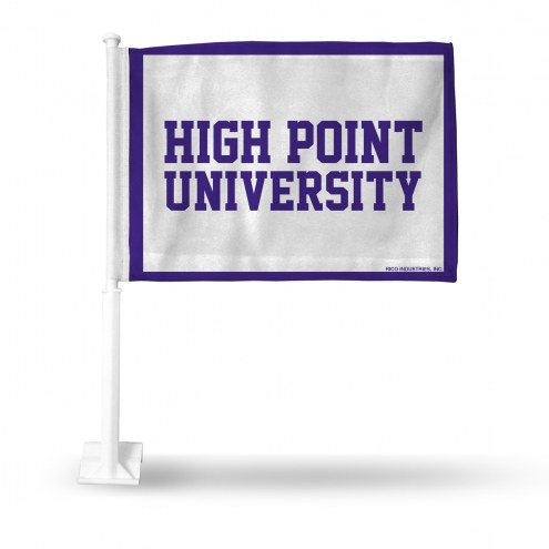 High Point Panthers Car Flag