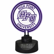 High Point Panthers Team Logo Neon Lamp