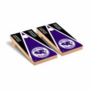 High Point Panthers Triangle Wooden Cornhole Game Set