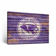 High Point Panthers Weathered Canvas Wall Art