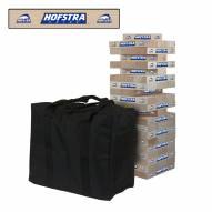 Hofstra Pride Giant Wooden Tumble Tower Game