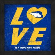 Hofstra Pride Love My Team Color Wall Decor