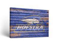 Hofstra Pride Weathered Canvas Wall Art