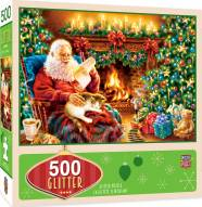 Holiday Christmas Dreams 500 Piece Glitter Puzzle