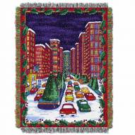 Holiday City Throw Blanket