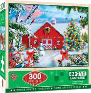 Holiday Country Christmas 300 Piece EZ Grip Puzzle
