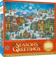Holiday Harbor Side Carolers 1000 Piece Puzzle