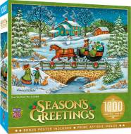 Holiday Over the River 1000 Piece Puzzle