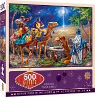 Holiday Three Magi 500 Piece Glitter Puzzle