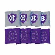 Holy Cross Crusaders Cornhole Bag Set